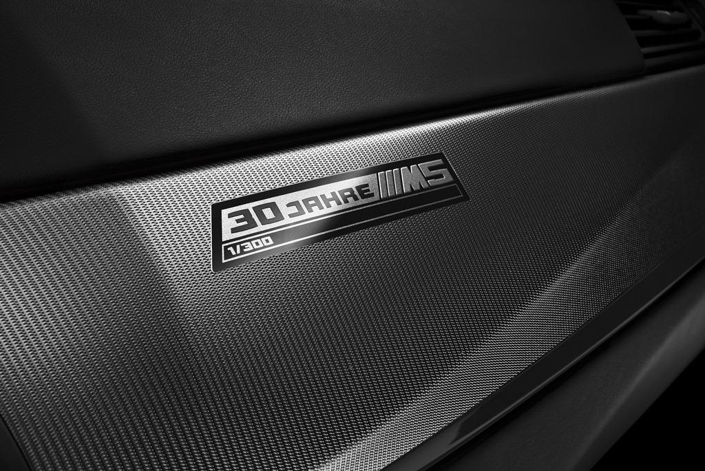 """BMW M5 """"30 Jahre Édition"""" (30 ans de la M5)"""