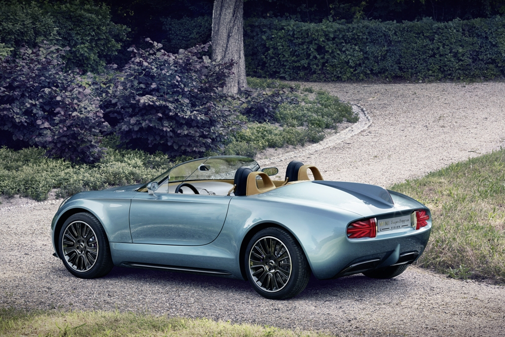 Mini Superleggera Vision au Concours d'Elegance Villa d'Este