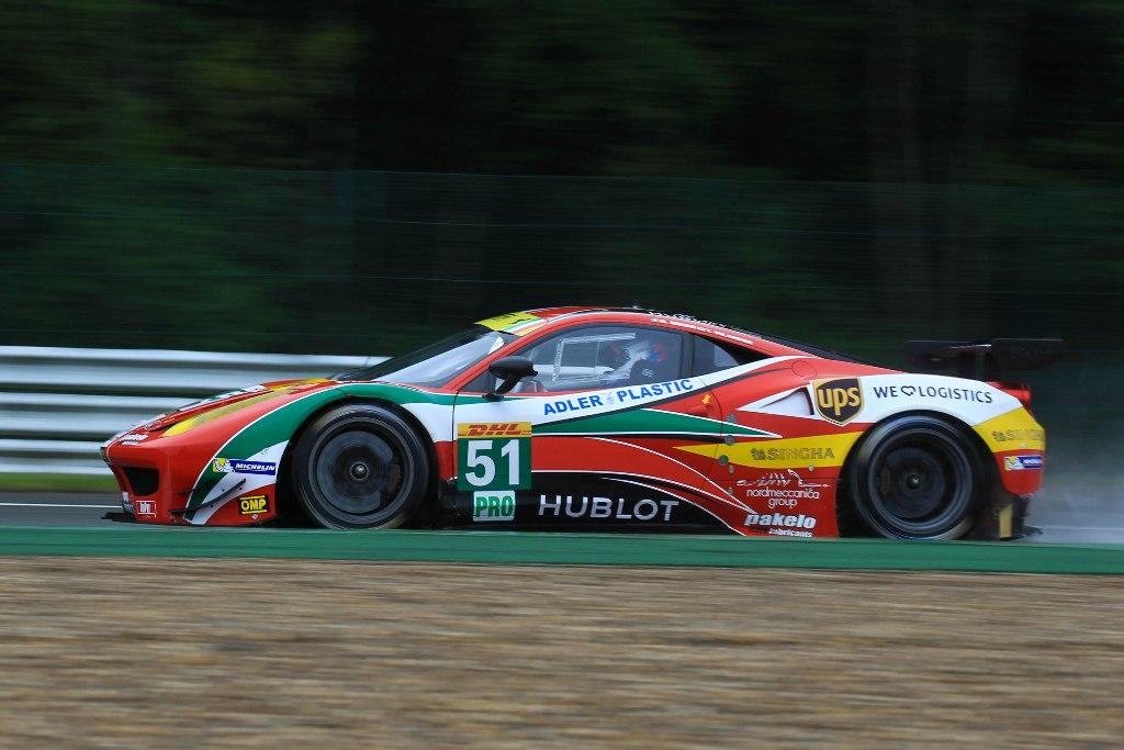 Endurance WEC Spa 2014 - AF Corse Ferrari 458 n°51