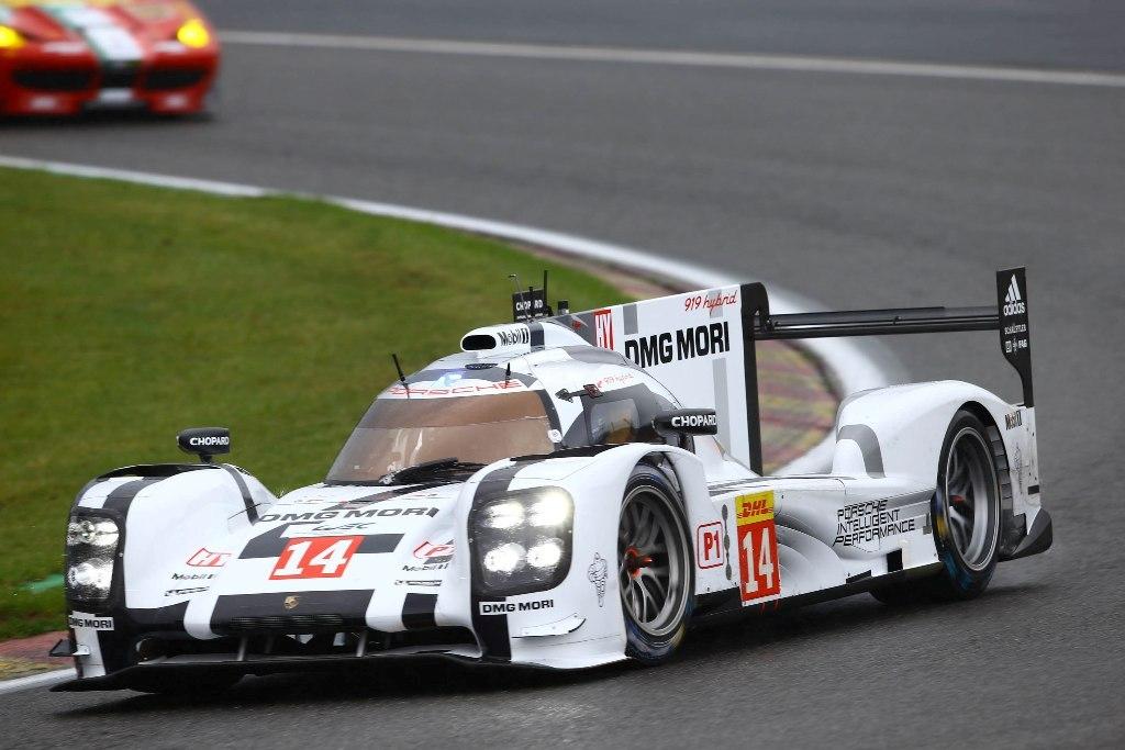 Endurance WEC Spa 2014 - Porsche 919 Hybrid n°14