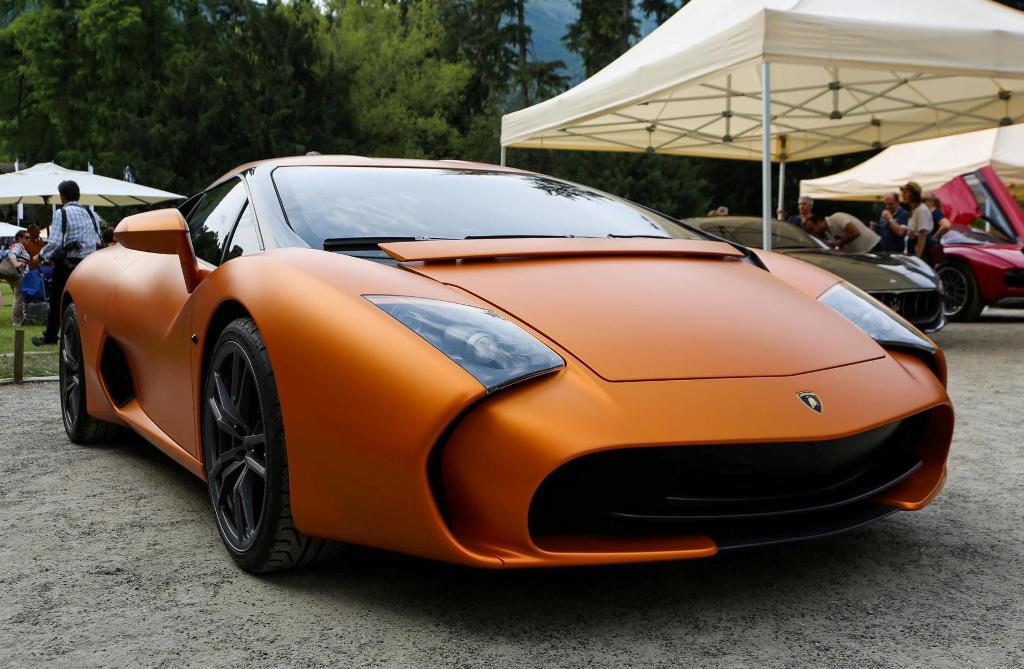 Lamborghini Gallardo 5-95 Zagato au Concours d'Elegance Villa d'Este