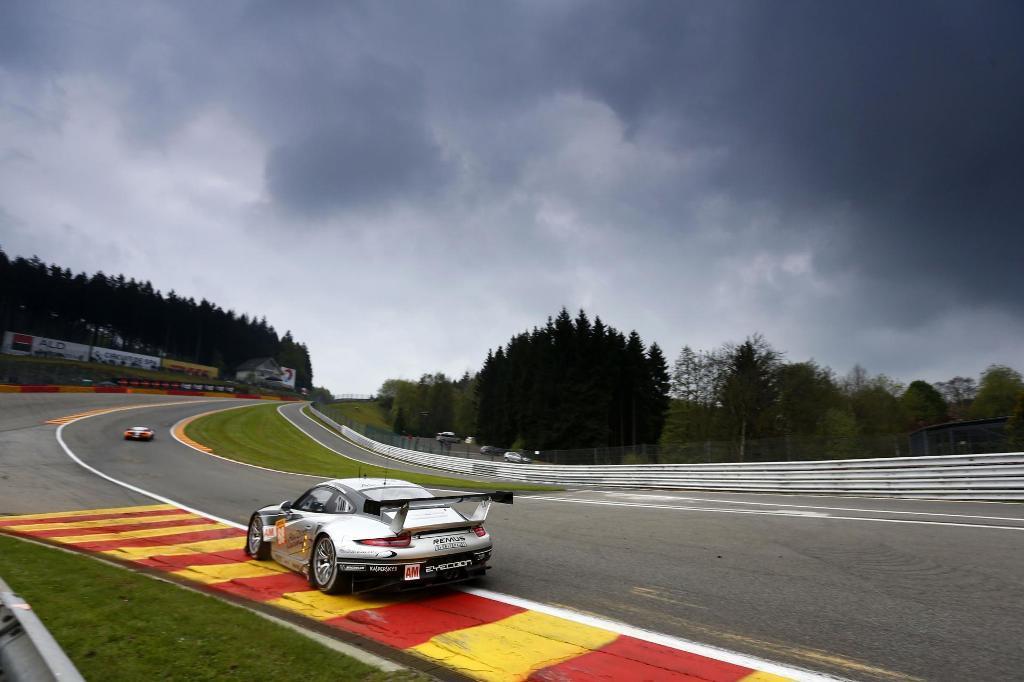Endurance WEC Spa 2014 - Porsche 911 RSR
