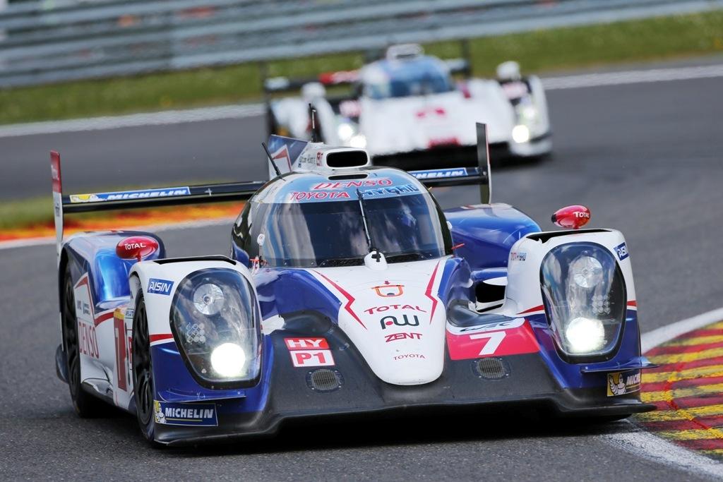 Endurance WEC Spa 2014 - Toyota TS040 n°7