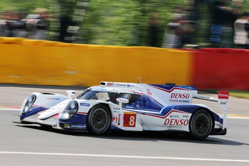 Endurance WEC Spa 2014 - Toyota TS040 n°8