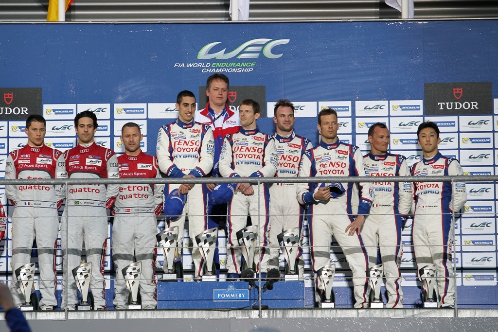 Endurance WEC Spa 2014 - Podium LMP1
