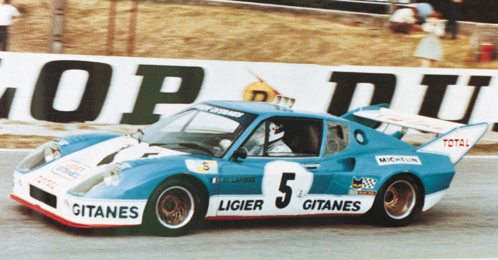 Ligier JS 2 - 24 Heures du Mans 1975 - Jean Louis Lafosse (F) - Guy Chasseuil (F)