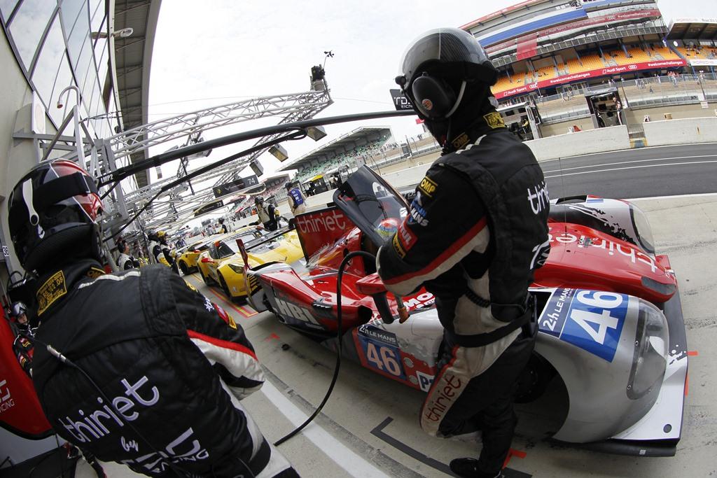 24 Heures du Mans 2014 - Journée test 1er juin - Ligier JS P2 - TDS Racing