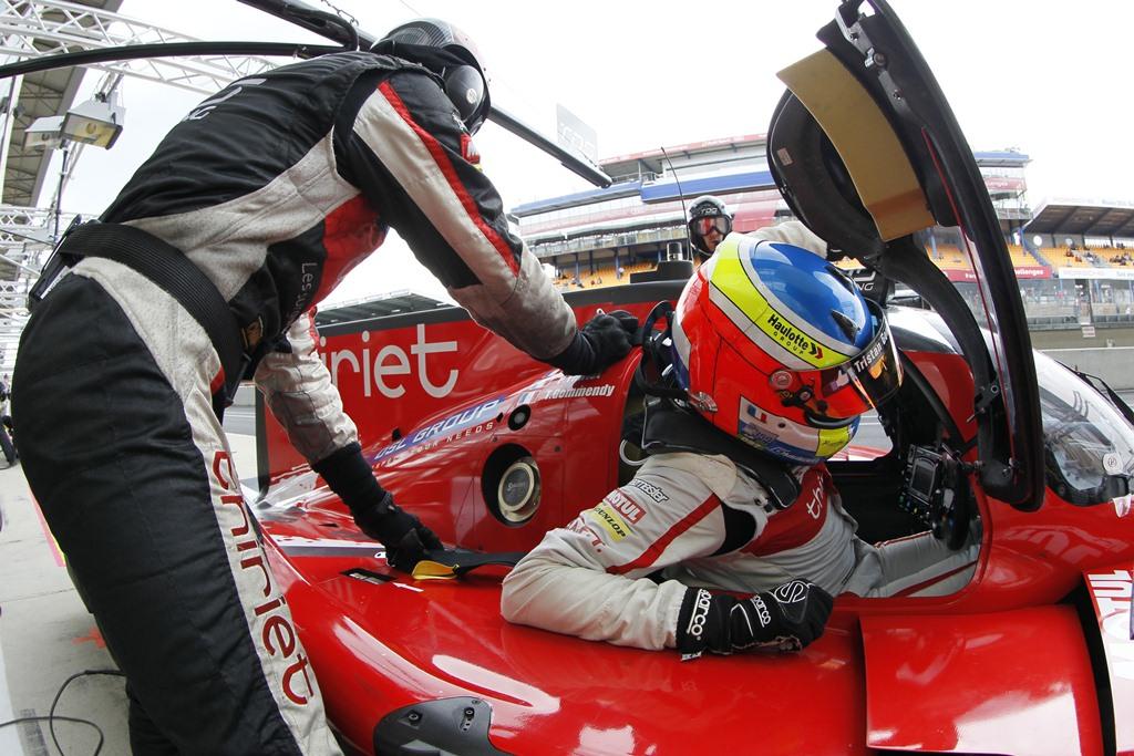 24 Heures du Mans 2014 - Journée test 1er juin - Ligier JS P2 - TDS Racing - Tristan Gommendy