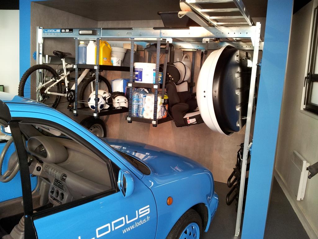 Rangement modulable pour garage for Rangement modulable garage