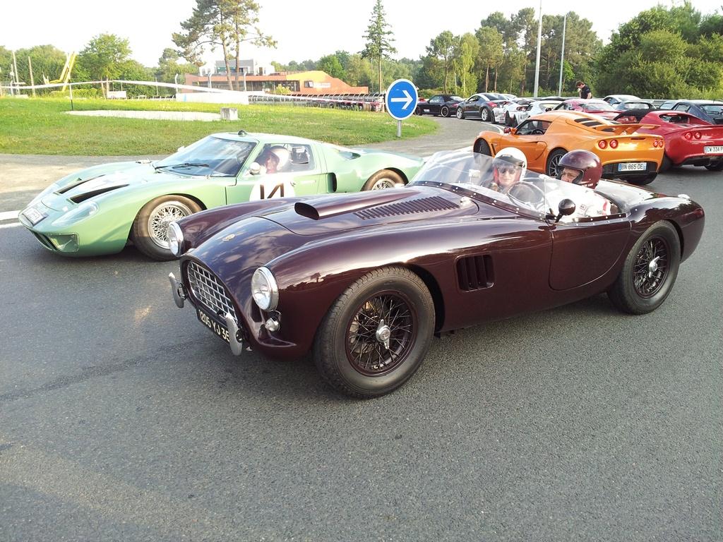24 Heures du Mans 2014 : 20 min de piste avec le Club Lotus France !