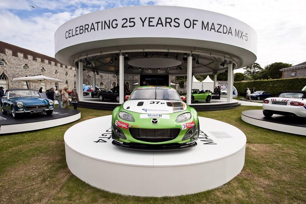 Mazda MX-5 25th Anniversary - MX-5 GT4 Festival Of Speed Goodwood