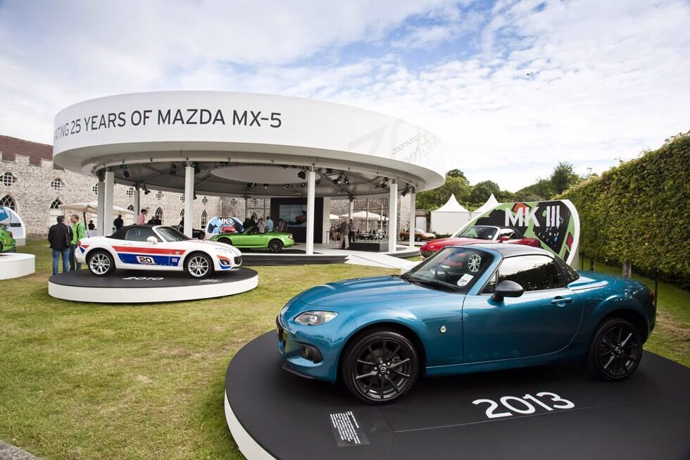 Anniversary - MX-5 Sport Graphite Festival Of Speed Goodwood