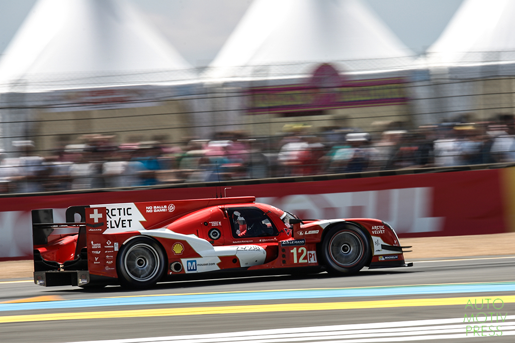 Rebellion R-One Toyota n°12 - 24 Heures du Mans 2014 - Course - PROST / HEIDFELD / BECHE