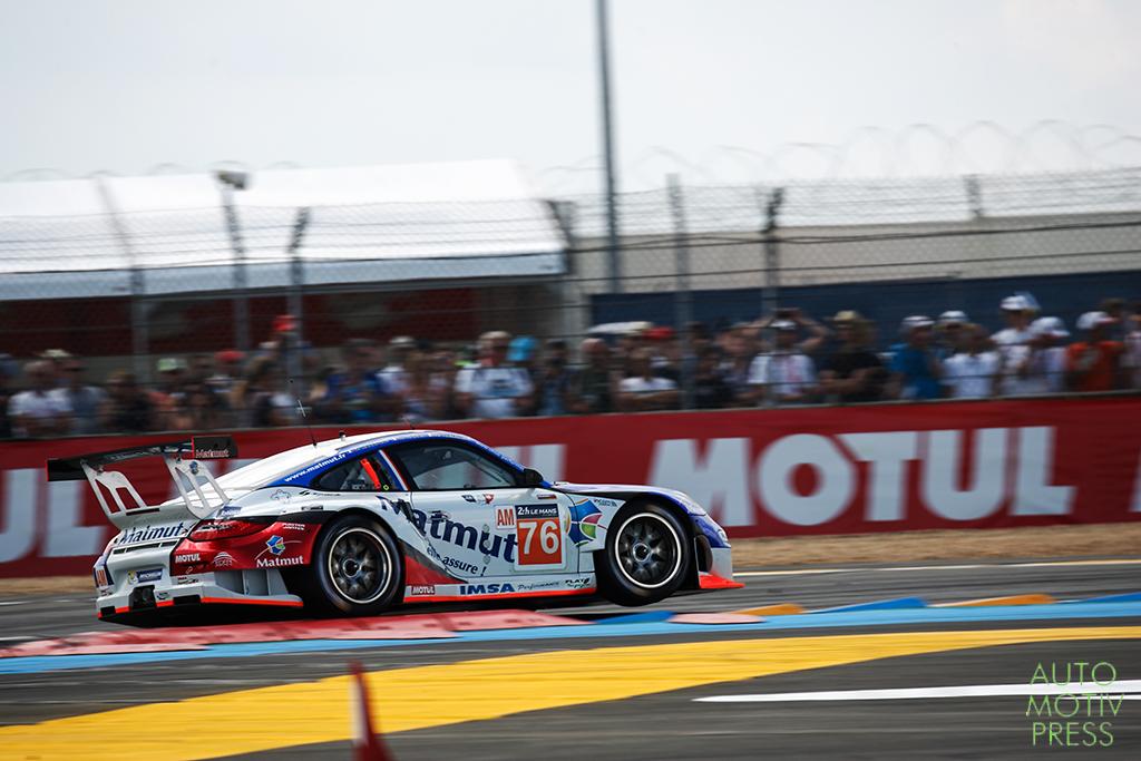 Porsche 911 GT3 RSR n°76/IMSA Performances - 24 Heures du Mans 2014 - Course - NARAC / ARMINDO / HALLYDAY