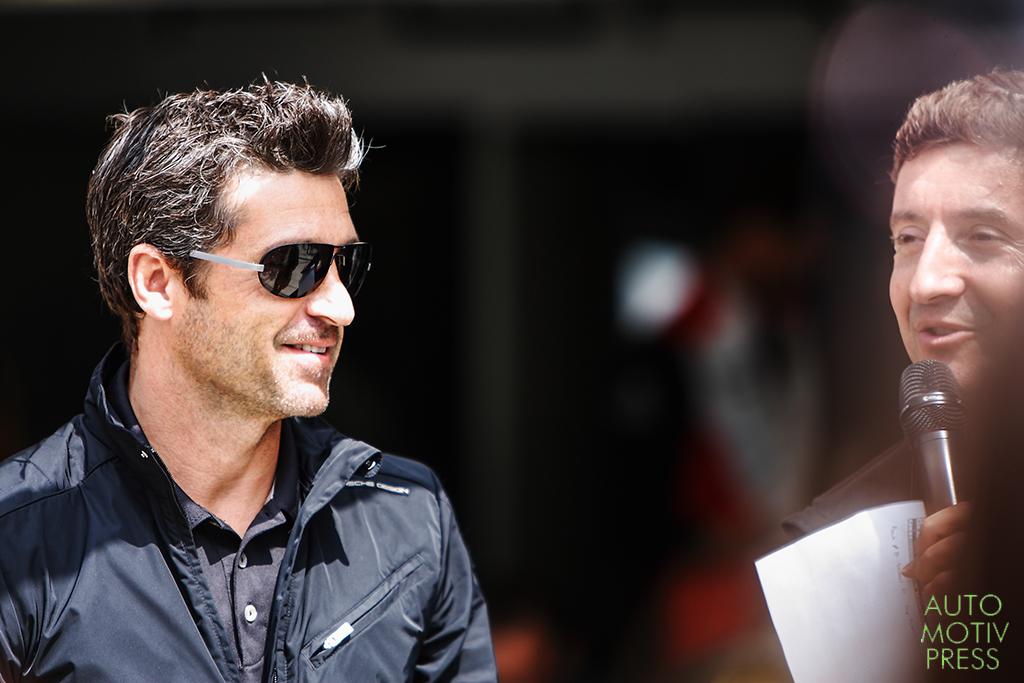 24 Heures du Mans 2014 - Journée test 1er juin - Patrick Dempsey