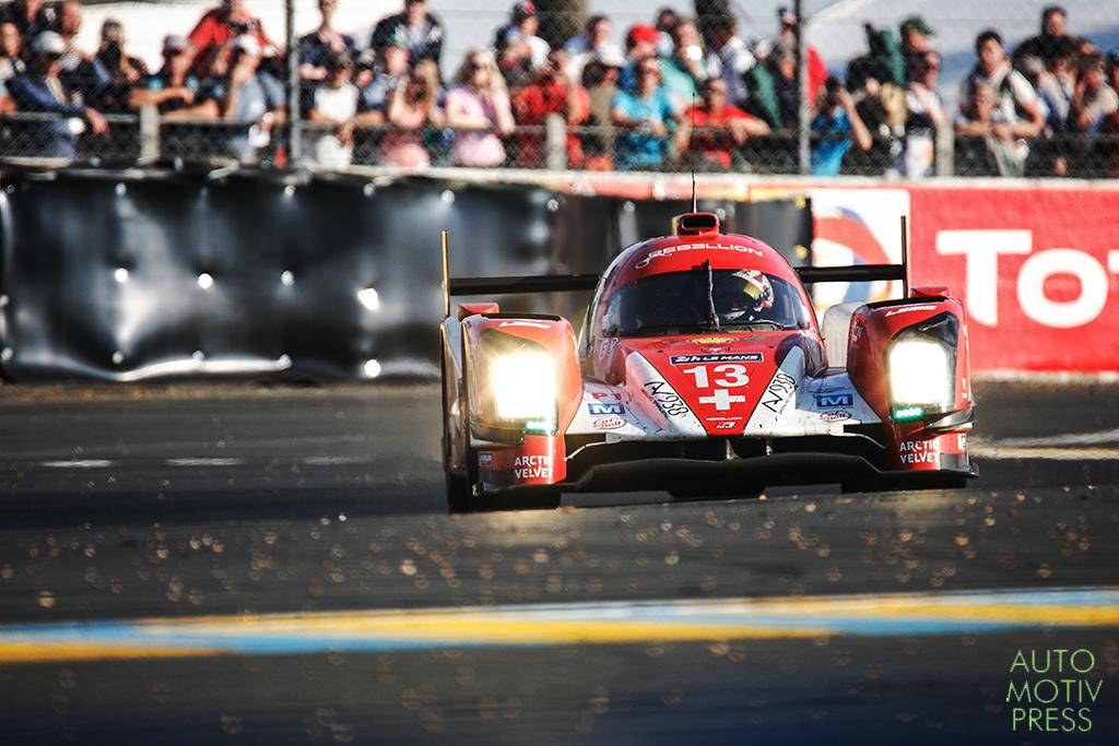 Rebellion R-One Toyota n°13 - 24 Heures du Mans 2014 - Course - KRAIHAMER / BELICCHI / LEIMER