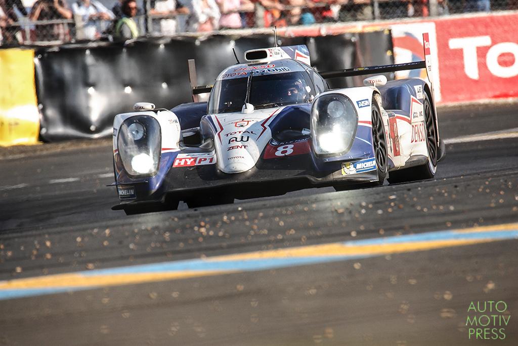 Toyota Hybrid TS040 n°7 - 24 Heures du Mans 2014 - Course - DAVIDSON / LAPIERRE / BUEMI