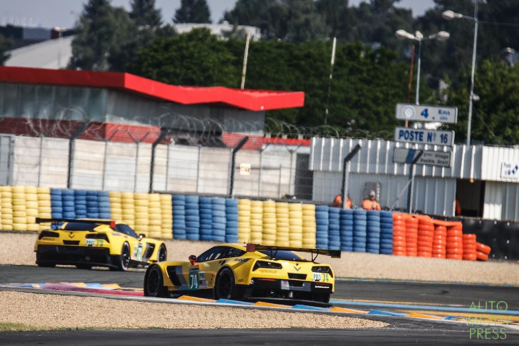 Corvette C7 n°73 & n°74/Corvette Racing - 24 Heures du Mans 2014 - Course