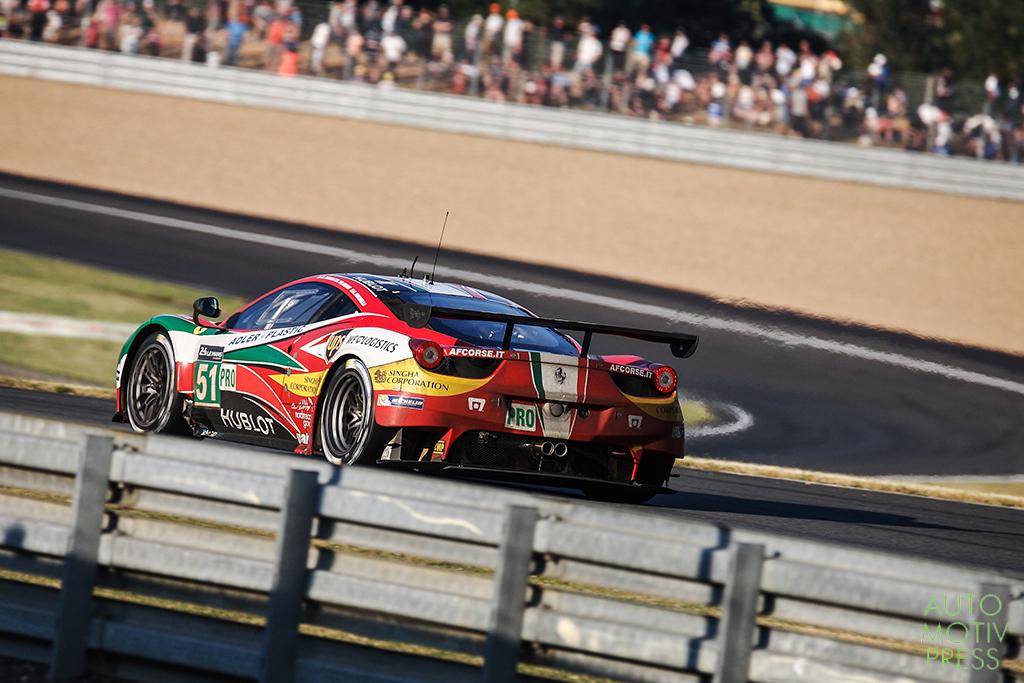 Ferrari 458 Italia n°51/ AF Corse - 24 Heures du Mans 2014 - Course - BRUNI / VILANDER / FISICHELLA
