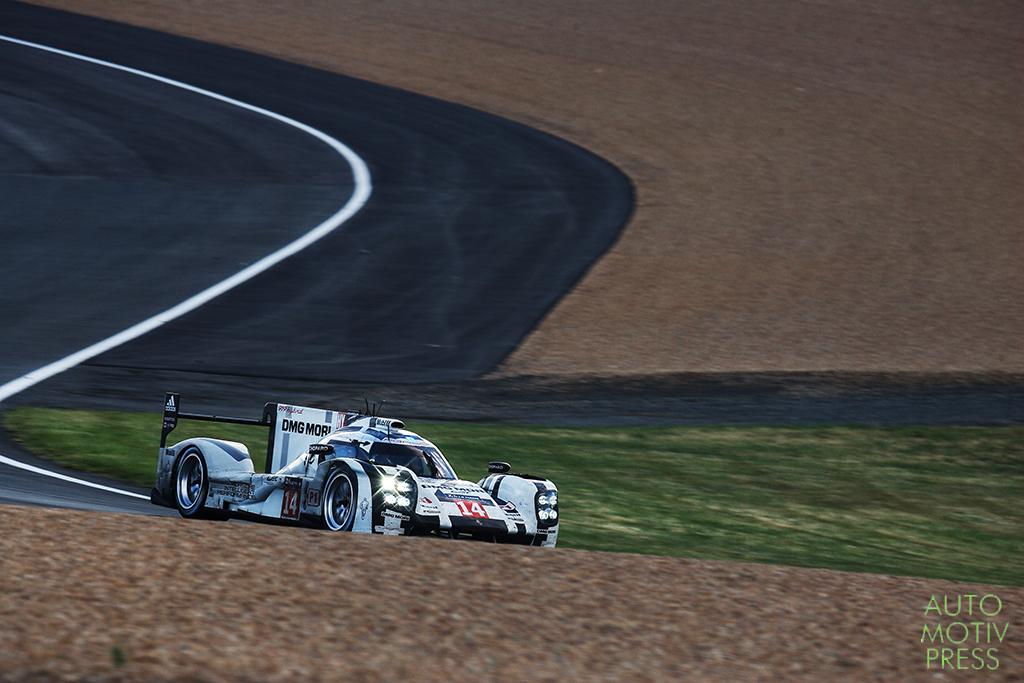 Porsche 919 Hybrid n°14 - 24 Heures du Mans 2014 - Course - DUMAS / JANI / LIEB