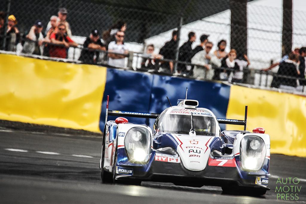 24 Heures du Mans 2014 - Journée test 1er juin avec Toyota et Oreca