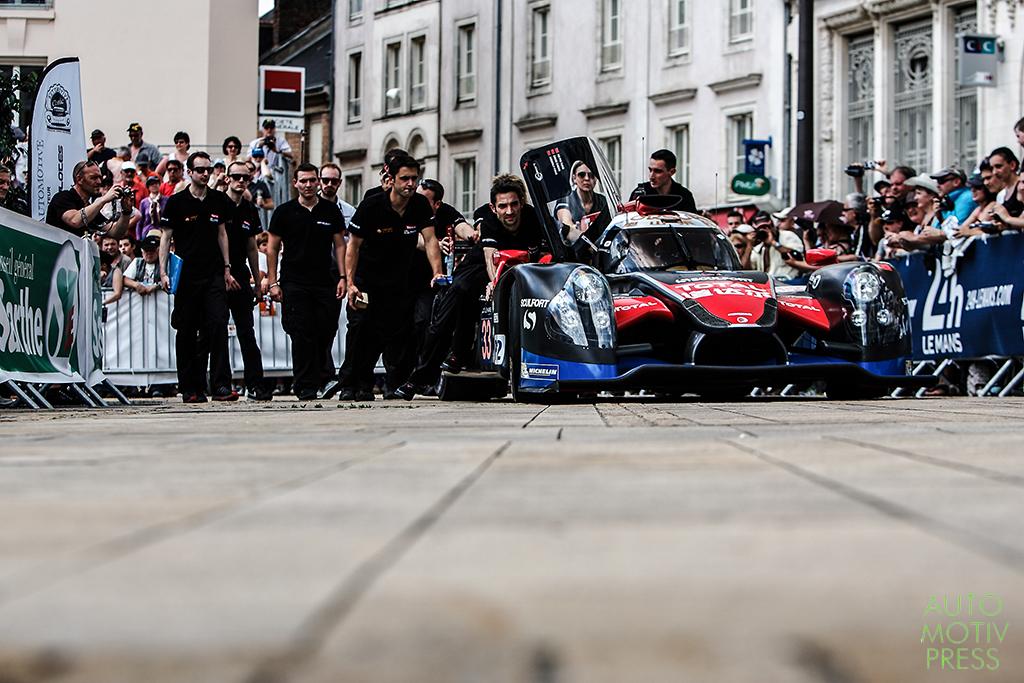 24 Heures du Mans 2014 - Pesage - Ligier JS P2 - OAK Racing