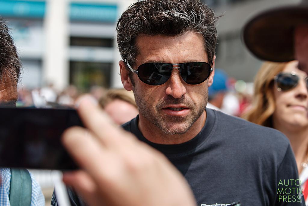 24 Heures du Mans 2014 - Pesage - Patrick Dempsey