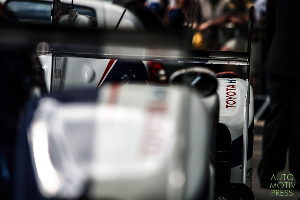 24 Heures du Mans 2014 - Pesage - Toyota TS040 Hybrid