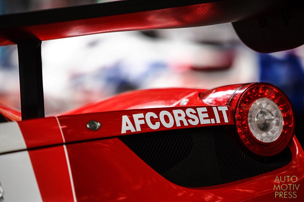 24 Heures du Mans 2014 - Pesage - Ferrari F458 Italia - AF Corse