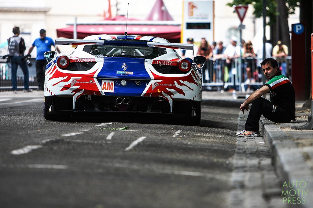 24 Heures du Mans 2014 - Pesage - Ferrari F458 Italia