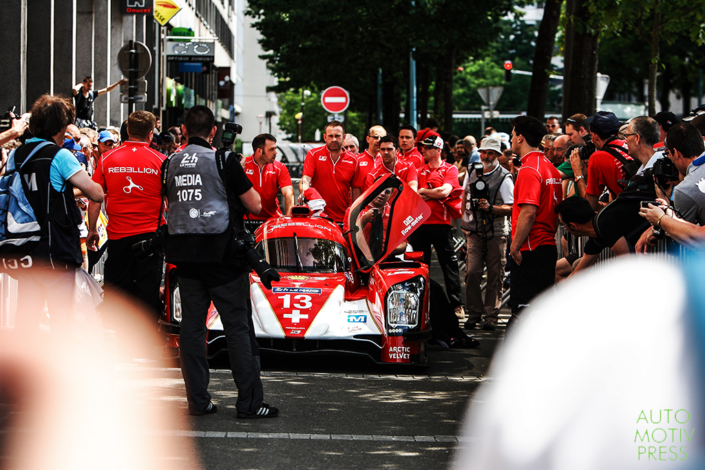 24 Heures du Mans 2014 - Pesage - Rebellion Racing