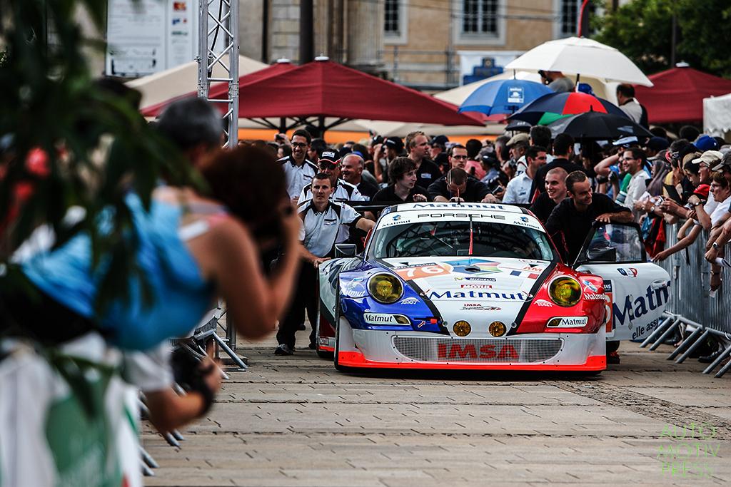 24 Heures du Mans 2014 - Pesage - Porsche IMSA Matmut