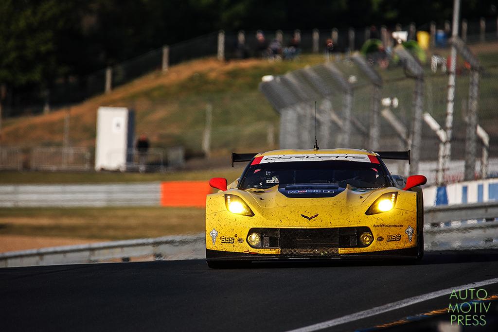 Corvette C7 n°73/Corvette Racing - 24 Heures du Mans 2014 - Course - MAGNUSSEN / GARCIA / TAYLOR