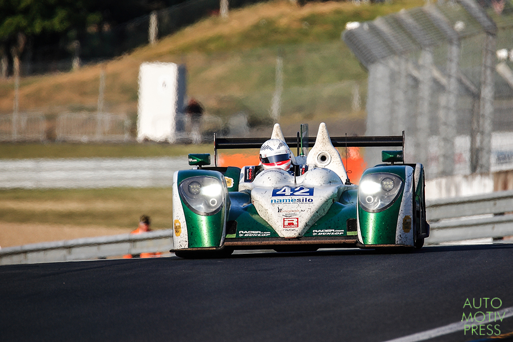 Zytek Z11SN-Nissan n°42 / Caterham Racing - 24 Heures du Mans 2014 - Course - KIMBER-SMITH / McMURRY / DYSON