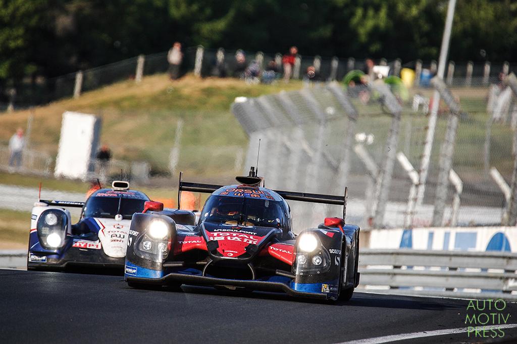 Ligier JS P2-HPD n°33 / OAK Racing - 24 Heures du Mans 2014 - Course - CHENG / TUNG / FONG