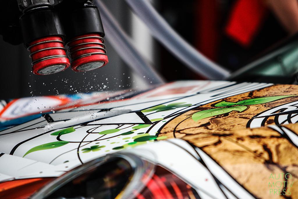 Porsche 911 GT3 RSR n°75/Prospeed Compétition  - 24 Heures du Mans 2014 - Course - PERRODO / COLLARD / PALTTALA