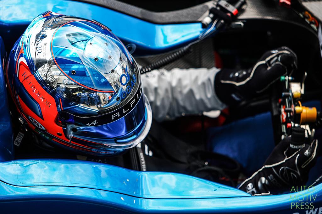 Alpine A450B-Nissan n°36 / Signatech Alpine - 24 Heures du Mans 2014 - Course - CHATIN / PANCIATICI / WEBB