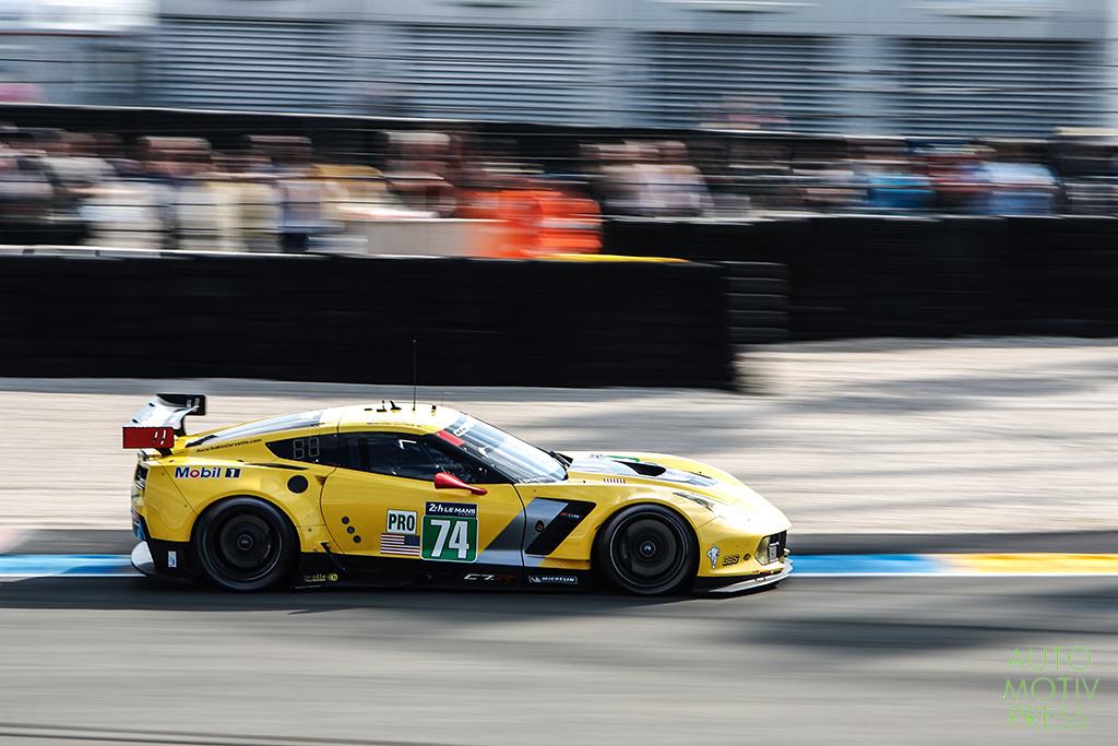 Corvette C7 n°74/Corvette Racing - 24 Heures du Mans 2014 - Course - GAVIN / MILNER / WESTBROOK
