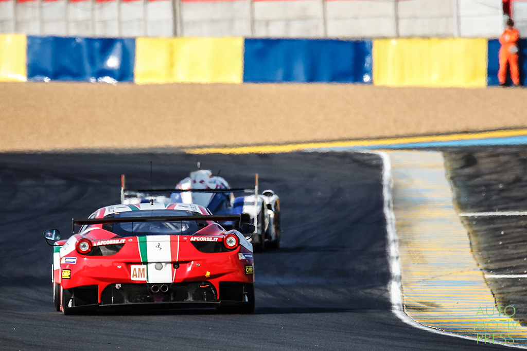 Ferrari 458 Italia n°61/ AF Corse - 24 Heures du Mans 2014 - Course - PEREZ-COMPANC / CIOCI / VENTURI