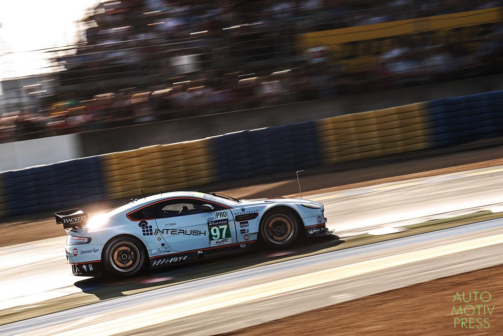 Aston Martin Vantage n°97/Aston Martin Racing - - 24 Heures du Mans 2014 - Course - TURNER / MÜCKE / SENNA