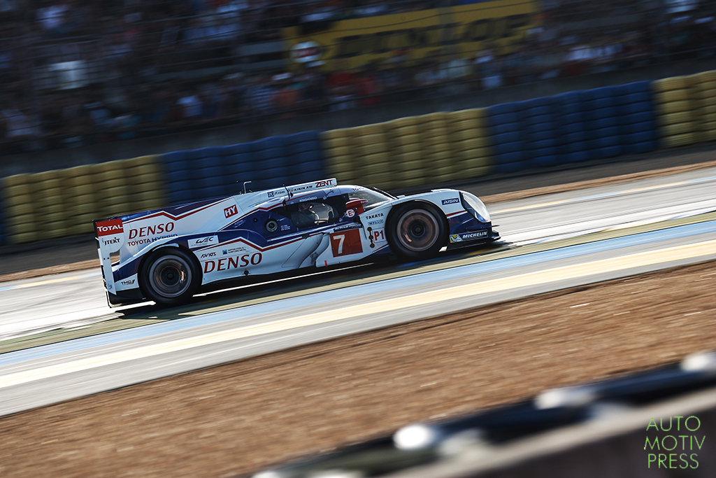 Toyota Hybrid TS040 n°7 - 24 Heures du Mans 2014 - Course - WURZ / SARRAZIN / NAKAJIMA