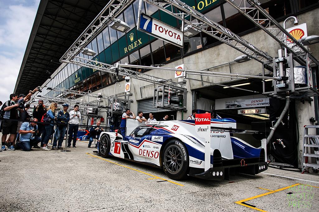 24 Heures du Mans 2014 - Journée test 1er juin - Toyota TS040 Hybrid
