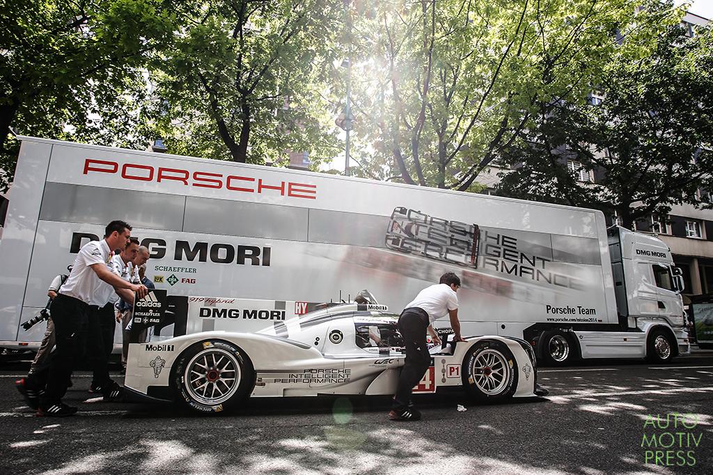 24 Heures du Mans 2014 - Pesage - Porsche 919 Hybrid