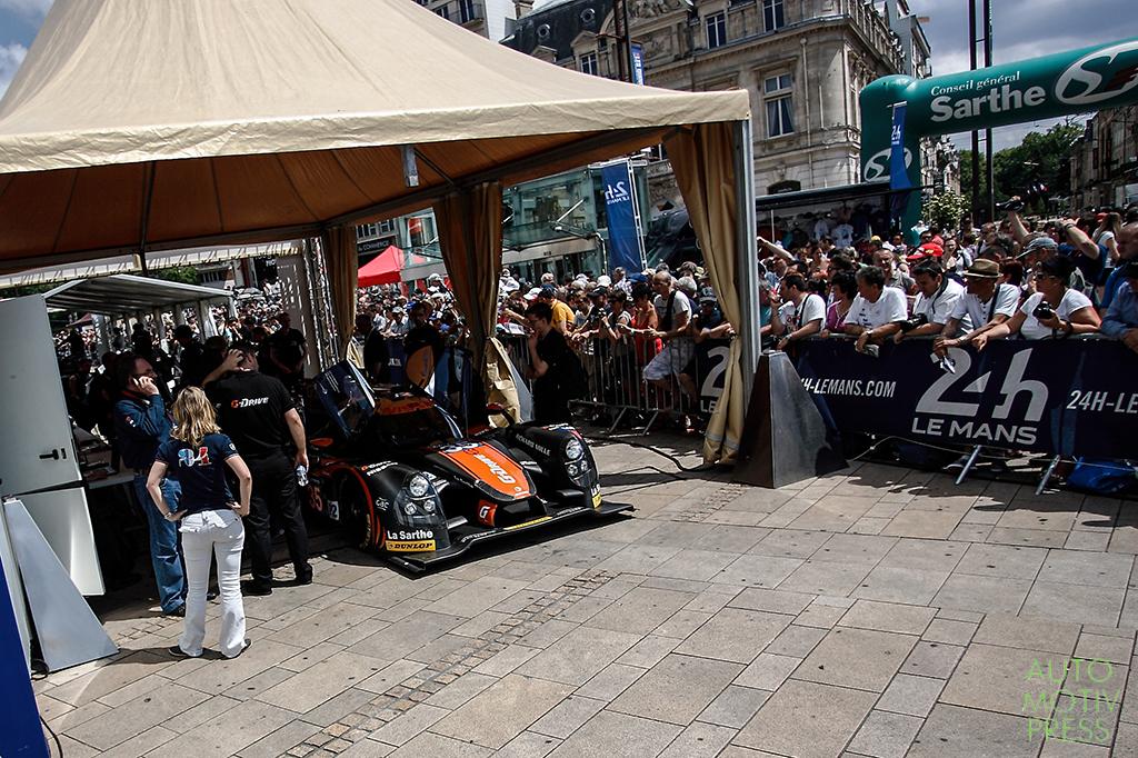 24 Heures du Mans 2014 - Pesage - Ligier JS P2 - G Drive Racing