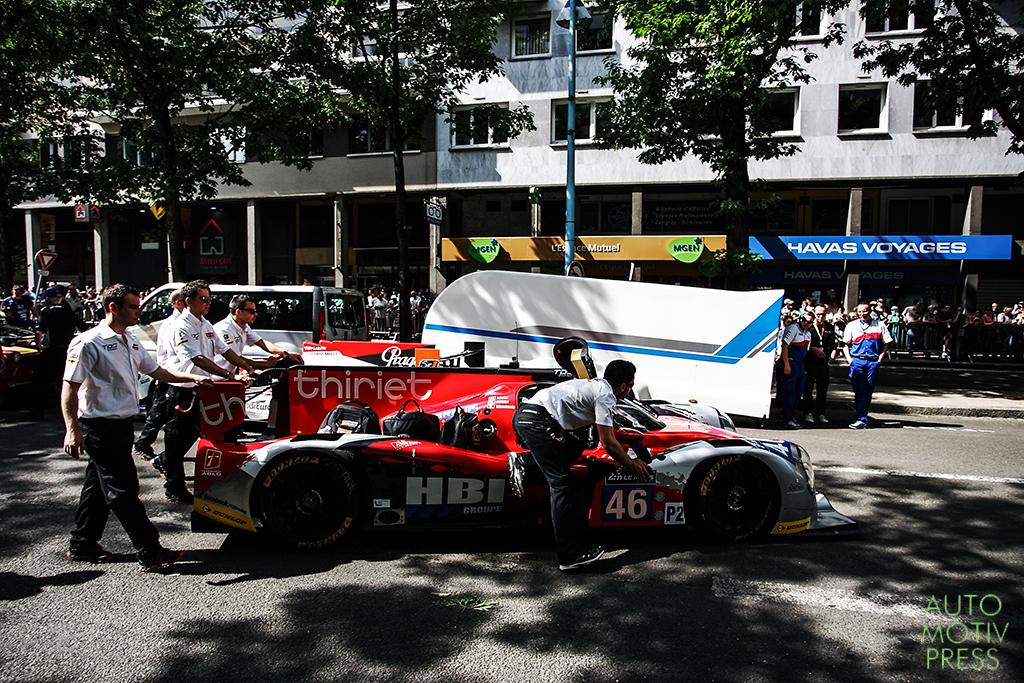24 Heures du Mans 2014 - Pesage - Ligier JS P2 TDS Racing