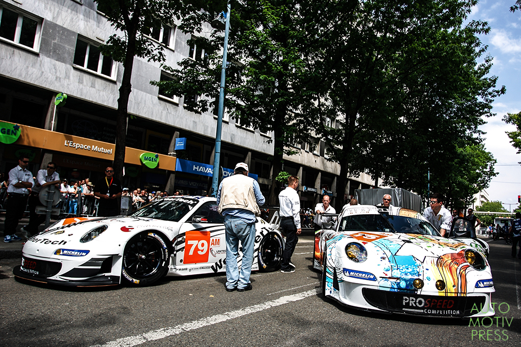 24 Heures du Mans 2014 - Pesage - Porsche ProSpeed