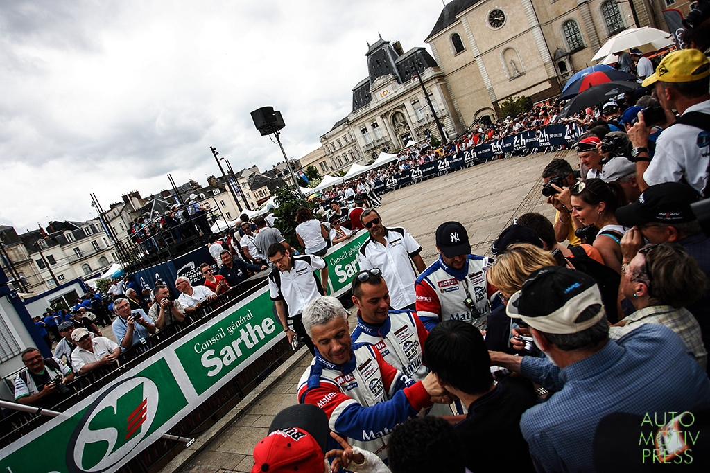 24 Heures du Mans 2014 - Pesage