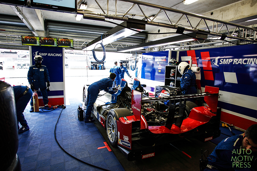 Oreca 03R Nissan SMP Racing - 24 Heures du Mans 2014 - Essais