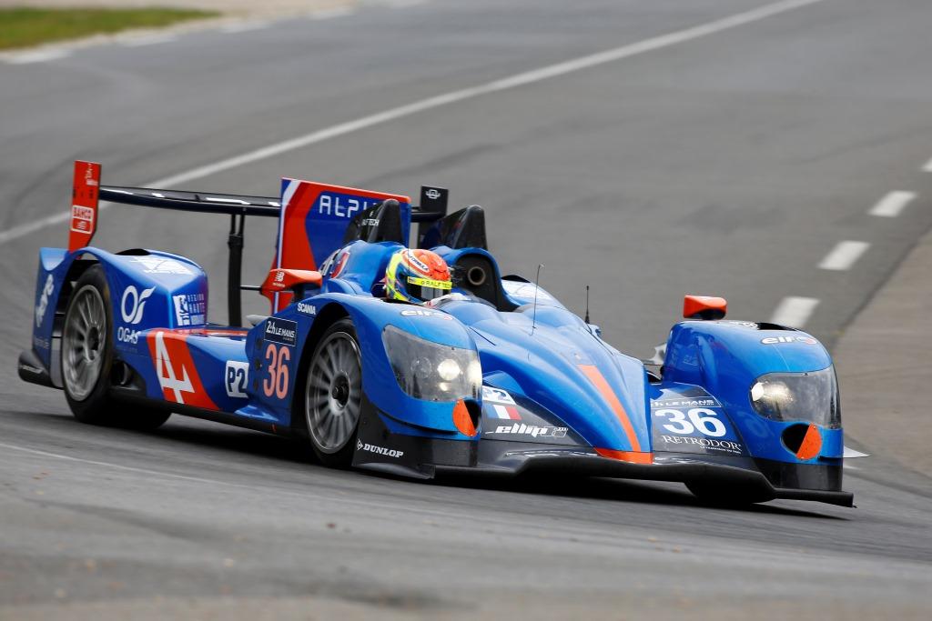 24 Heures du Mans 2014 - Journée test 1er juin - Alpine A450