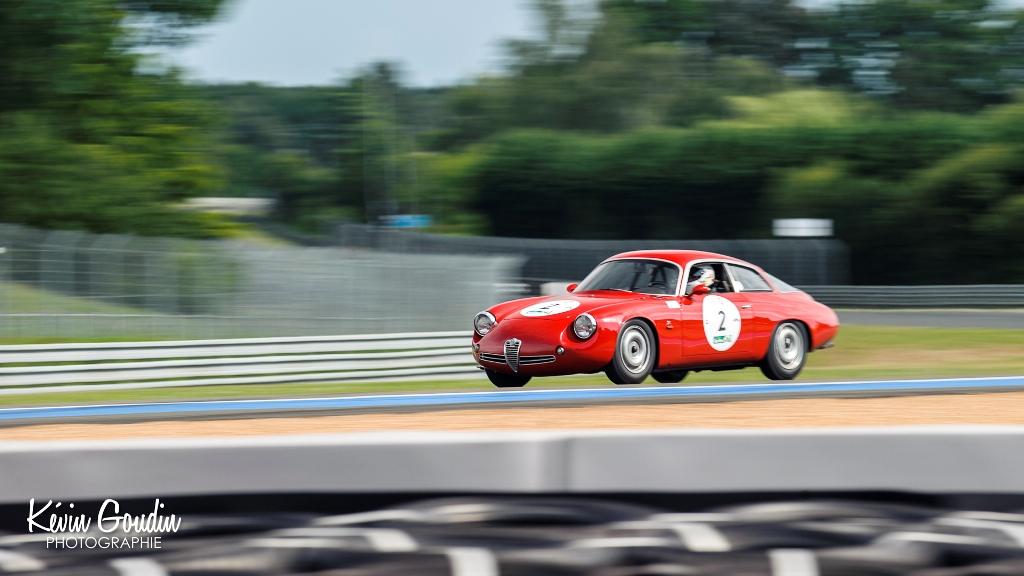 Le Mans Classic 2014 - Plateau 3 (1957-1961) - Pierre et François Fillon Alfa Roméo SZT